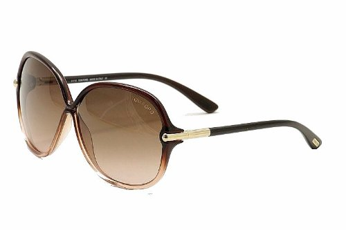 125a4fd79590 Tom Ford 0224 50f Brown Islay Butterfly Sunglasses  Amazon.co.uk  Clothing
