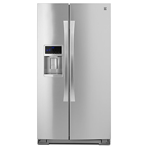Kenmore Elite 51773 28 cu. ft. Side-by-Side Refrigerator with Accela Ice Technology in Stainless Steel, includes delivery and hookup