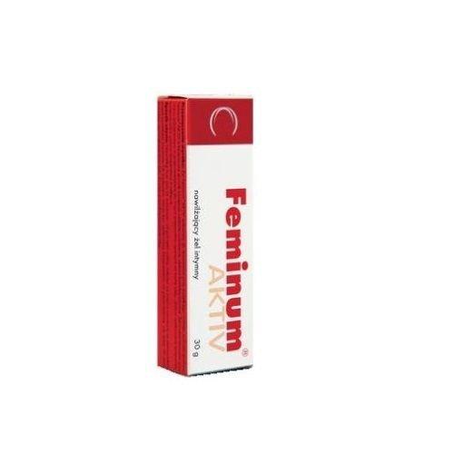 Íntimo de Feminum Aktiv Gel 30g - problemas - Sequedad Vaginal tratamiento belleza piel