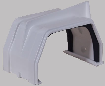 Raingo RW105 White Gutter Slip Joint - Raingo White Gutter