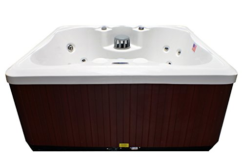 Hudson Bay Spas 4 Person 14 Jet Spa with Stainless Jets and 110V GFCI Cord Included
