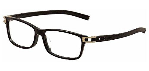 Tag Heuer Track S 7604 Eyeglasses 008 Black/Black - Logo Groupe Eyewear