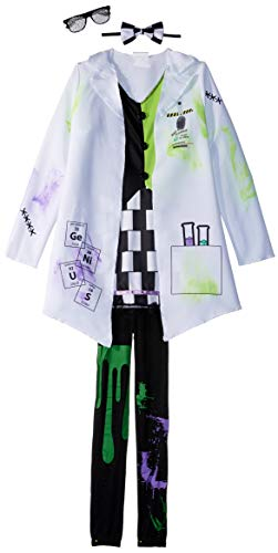 Fun World Mad Scientist Girl Costume, Medium 8-10, White