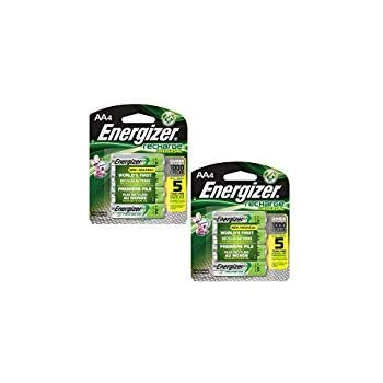 Amazon.com: Energizer Rechargeable AA Batteries, NiMH