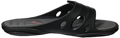 Sandalen Mehrfarbig Ix Fem mit offener Grau Damen Schwarz Spitze Rider Key 8Iwqnfx6