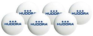 HUDORA Tischtennisball 6 Stück, Weiß, 40 mm, 76277