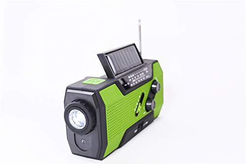 Emergency Weather Solar Crank AM/FM NOAA Radio, with 2000 mA Rechargeable Power Reading Lamp Led Flashlight SOS Alarm USB Charging Multi-Function Design for All Kinds of Emergency Situations. by JU FENG (Image #8)