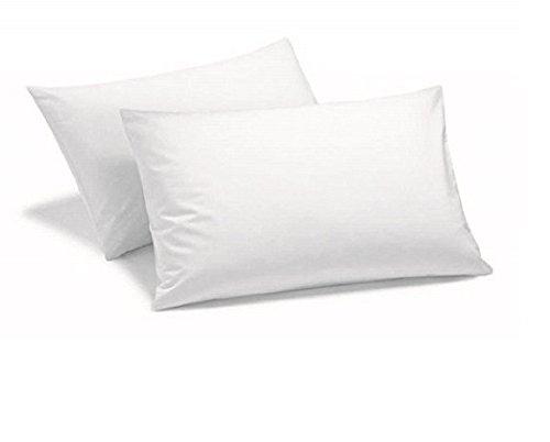 Livingston Home Hotel Line Pillowcase, Standard, White Pillowcase