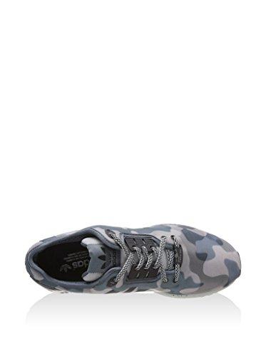 adidas Herren ZX Flux Deco Sneaker Grau (Grau/Onix/Schwarz)