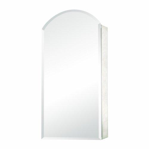 Pegasus Arch Beveled Mirror 15W x 30H in. Recess Medicine Cabinet SP4579 30%OFF