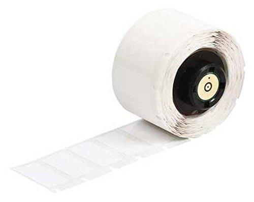 Brady PTL-20-483 white polyester 2x1in TLS 2200(R) Thermal Transfer Printer label Pkg/ 100