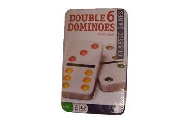Cardinal Classic Games - Double Six Color Dot -