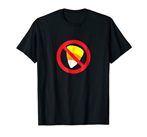 Halloween 2018 Funny No Candy Corn Anti Candy Corn Shirt