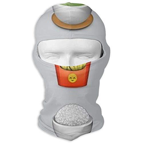 Balaclava Food Emoji Related Full Face Masks Ski Motorcycle Neck Hood ()