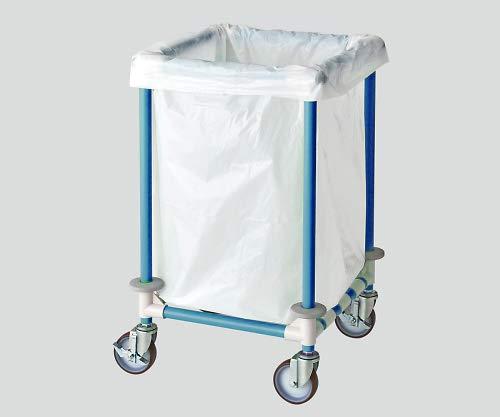 ナビス(アズワン)8-6549-02リネンカート(抗菌防カビイレクター(R))ブルー   B07BD3VHMR