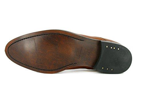 J.Bradford - Zapatos Hombre De Vestir Richelieu Cuero Marrón COTCH