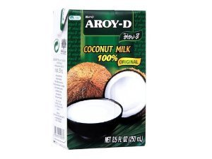 Price comparison product image Aroy-D 100% Coconut Milk - 33.8 oz packages (6-pack)