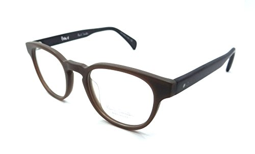Paul Smith Rx Eyeglasses Frames PM 8210 1395 48x21 Kendon Matte Burnt Clay - Smith Paul Sunglasses Wayfarer