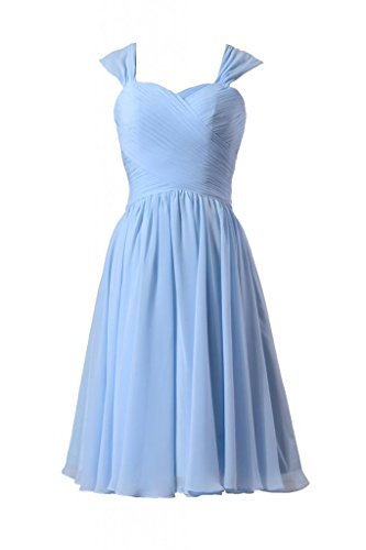 ice blue bridesmaids dresses - 7