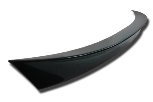PSI 2011+ BMW 5 Series 4-door sedan (F10) Custom-Painted AC style Trunk Spoiler - 416 (Carbon Black Metallic)