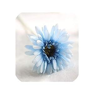 5/10/20PCS Artificial Flower Silk Gerbera for Wedding Decoration DIY Sunflower Artificial Flowers Bouquet for Wedding Home Decor,17,20PCS 30