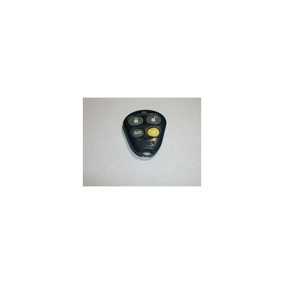 VIPER EZSDEI474V 474V 4 BUTTON KEY FOB Keyless Entry Remote Alarm Clicker