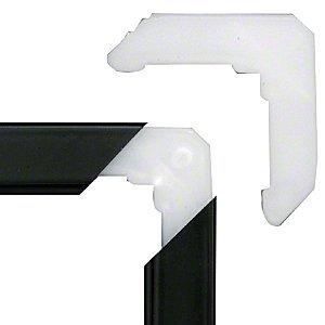 crl plastic miter cut screen frame corners 516quot window