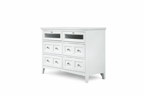 MagnussenB1475 Kentwood Painted White Finish with Brushed...