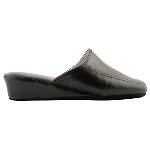 Paris Exclusif Slippers Slippers Exclusif Black Women's Paris Exclusif Women's Black 15qf4w5a