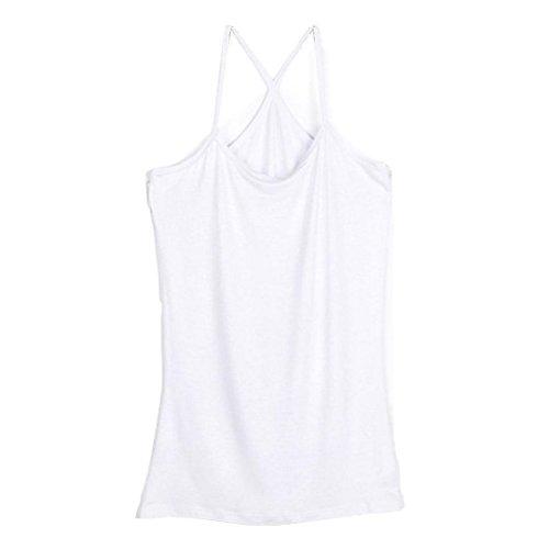 DDLBiz Womens Stretch Camisole Strappy