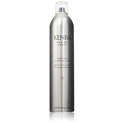 Kenra Volume Spray, Super Hold [25] 16 oz (Pack of 3) by Kenra