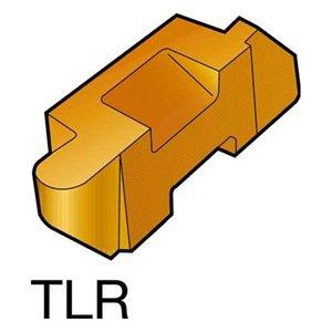 Sandvik Coromant Top Lok Carbide TLR Profiling Insert, H13A Grade, Uncoated, 1 Cutting Edge, TLR-3047L, 0.047'' Corner Radius, 3 Insert Seat Size (Pack of 10)