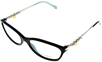 Tiffany Prescription Eyeglasses Frame Women Black TF 2063 8001 Oval