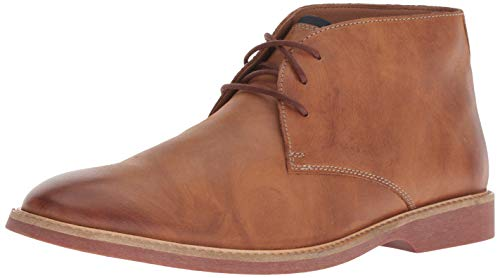 CLARKS Men's Atticus Limit Chukka Boot, Tan Leather, 100 M US ()