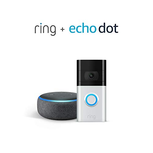 All-new Ring Video Doorbell 3 with Echo Dot