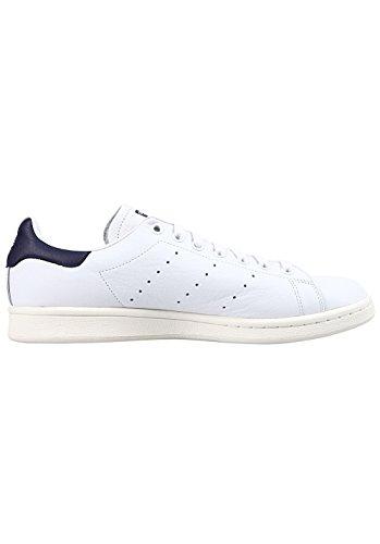 adidas Stan Smith, Zapatillas de Deporte Para Hombre, Blanco (Ftwbla/Ftwbla/Tinnob 000), 48 EU