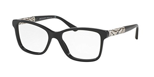 Bvlgari Women\'s BV4125B Eyeglasses Black 54mm at Amazon Women\'s ...