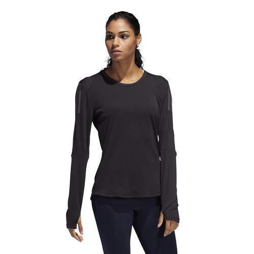 adidas Women's Own the Run Running Tee, Black, XX-Small by adidas