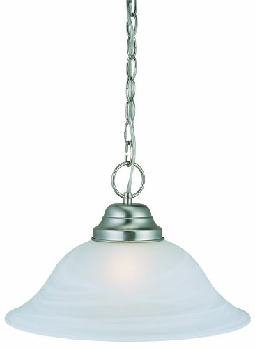 Glass Pendant Light With Chain - 4