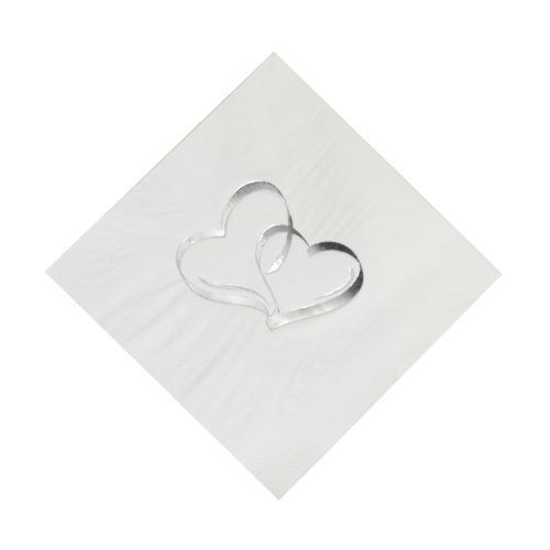 Fun Express Two Hearts Luncheon Napkins (50 pc) by Fun Express