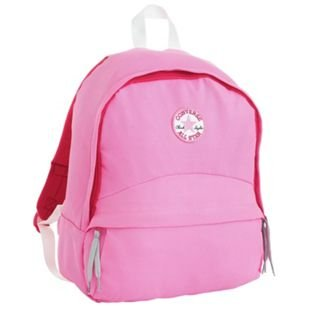 Converse All Star color rosa mochila.