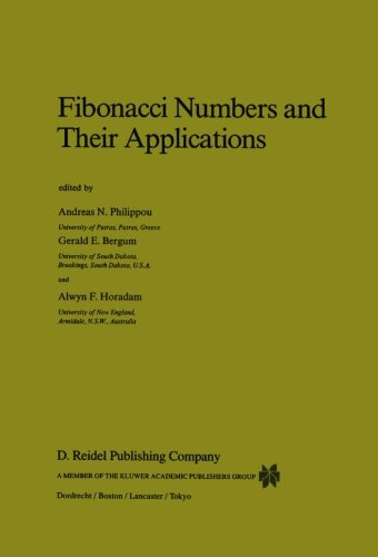 Fibonacci Numbers and Their Applications (Mathematics and Its Applications)
