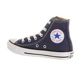 Converse Ctas Core Hi Zapatillas de Tela, Unisex - Infantil Azul (Navy)