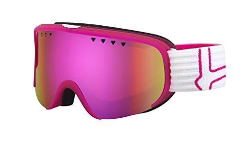 Bolle Scarlett Googles, Matte Pink/White/Rose - Pink Ski Goggles