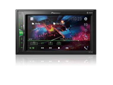 Pioneer MVH210EX 6.2'' Double DIN in-Dash Multimedia A/V Receiver with Bluetooth by PIONEER
