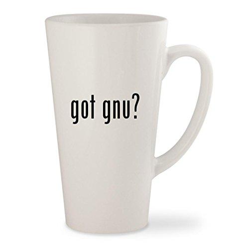 Gnu B Nice Btx Snowboard (got gnu? - White 17oz Ceramic Latte Mug Cup)