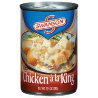 Swanson Chicken Ala King 10.5 fl oz- 12 Pack (Best Chicken Ala King)