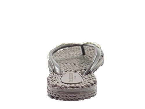 ILSE JACOBSEN Beet 12 Sandals Grey Prune kHSopX