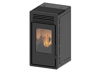 Estufa de pellets de aire con doble intercambiador de calor - Etna 11kW