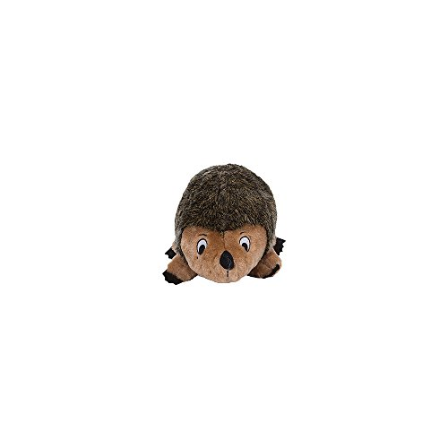 Outward Hound Hedgehogz Squeaky Dog Toy - Interactive Cuddly Soft Toy for Dogs - Tough & Durable Plush Fluffy Toy for Awesome Pets, Small
